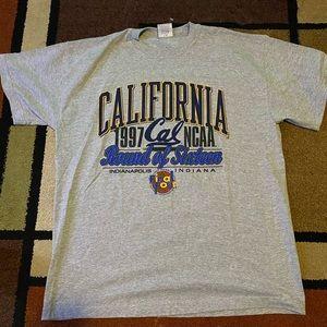 Vintage University of California final four tee